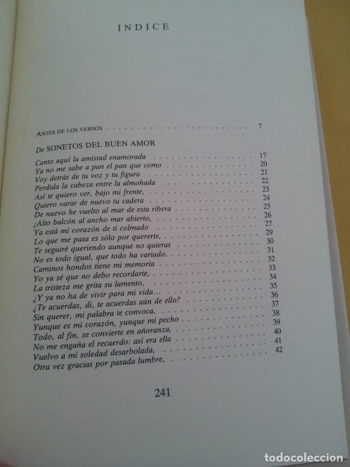 Libros de segunda mano: RAFAEL DE PENAGOS - ANTOLOGIA POETICA 1953-1991 - UNION EDITORIAL 1992 - DEDICADO POR EL AUTOR - Foto 5 - 222555262
