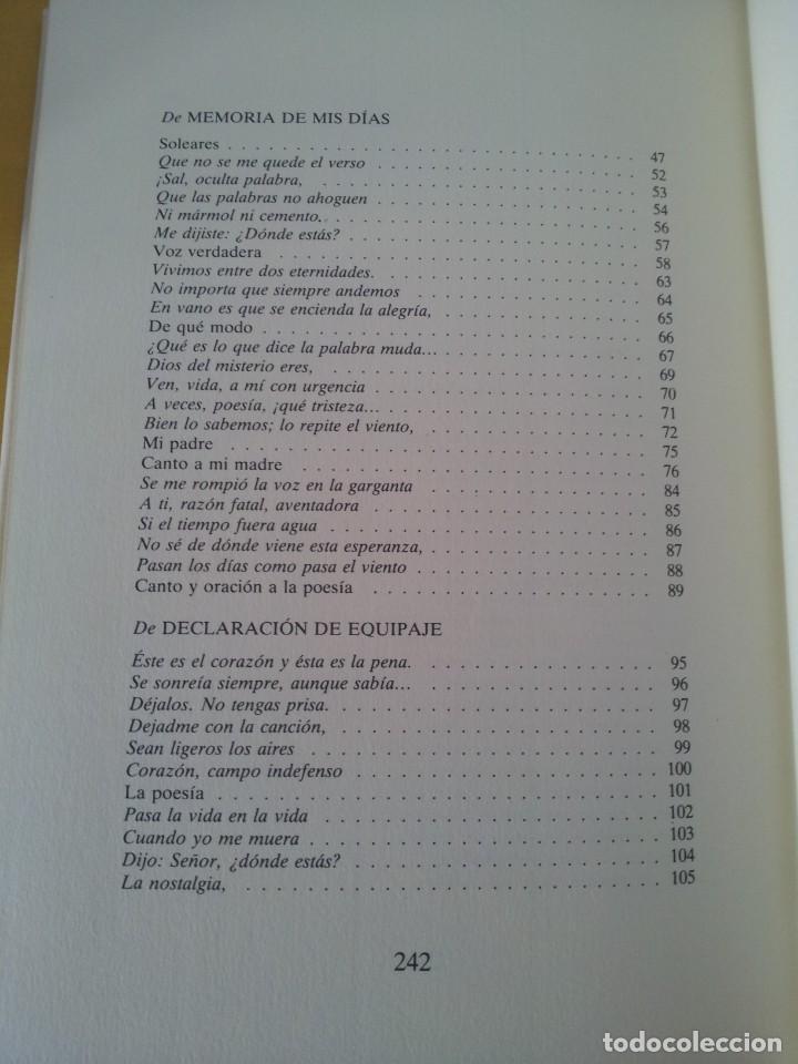 Libros de segunda mano: RAFAEL DE PENAGOS - ANTOLOGIA POETICA 1953-1991 - UNION EDITORIAL 1992 - DEDICADO POR EL AUTOR - Foto 6 - 222555262