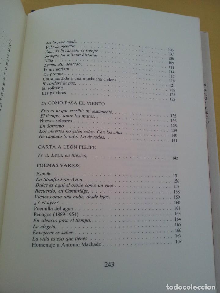 Libros de segunda mano: RAFAEL DE PENAGOS - ANTOLOGIA POETICA 1953-1991 - UNION EDITORIAL 1992 - DEDICADO POR EL AUTOR - Foto 7 - 222555262