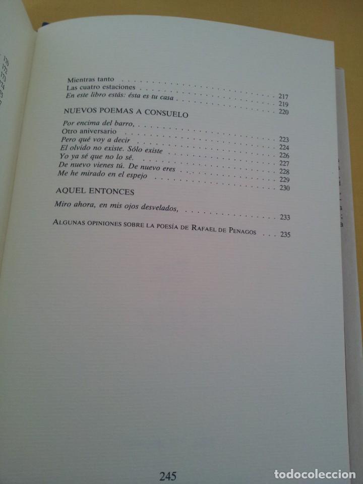 Libros de segunda mano: RAFAEL DE PENAGOS - ANTOLOGIA POETICA 1953-1991 - UNION EDITORIAL 1992 - DEDICADO POR EL AUTOR - Foto 9 - 222555262