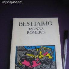 Libros de segunda mano: BESTIARIO - BAONZA ROMERO - UNIVERSIDAD POPULAR SAN SEBASTIAN DE LOS REYES 1993. Lote 222718560
