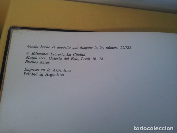 Libros de segunda mano: JORGE LUIS BORGES - COSMOGONIAS - EDICIONES LIBRERIA LA CIUDAD, BUENOS AIRES 1976 - Foto 4 - 225151015