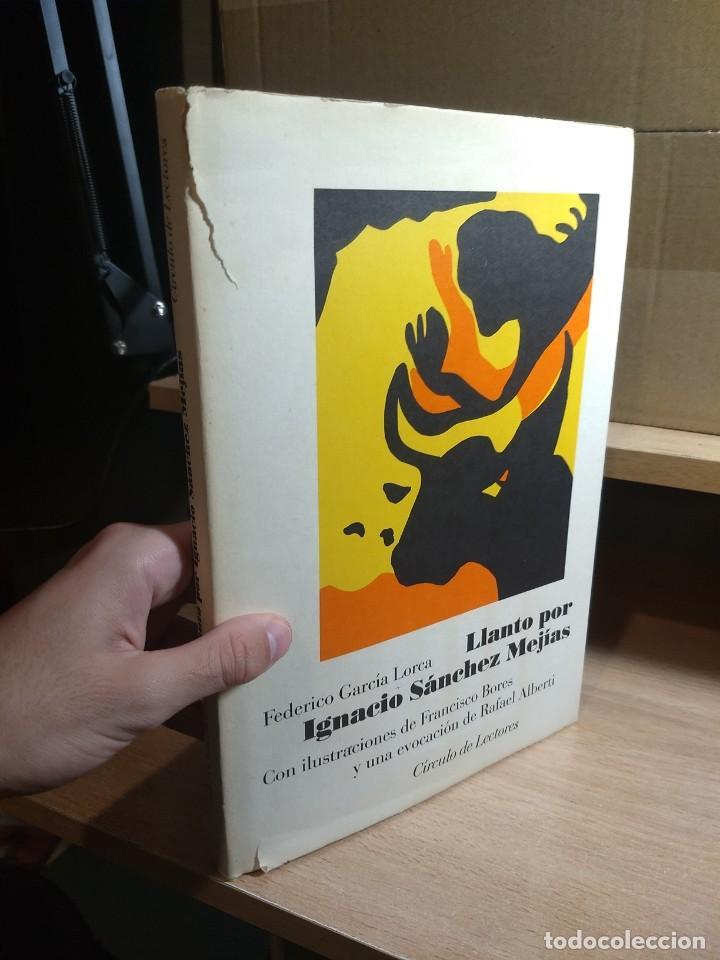 FEDERICO GARCÍA LORCA - LLANTO POR IGNACIO SÁNCHEZ MEJÍAS (1987) (Libros de Segunda Mano (posteriores a 1936) - Literatura - Poesía)