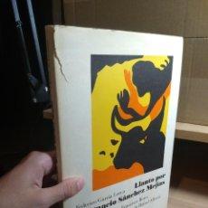 Libros de segunda mano: FEDERICO GARCÍA LORCA - LLANTO POR IGNACIO SÁNCHEZ MEJÍAS (1987). Lote 225196670