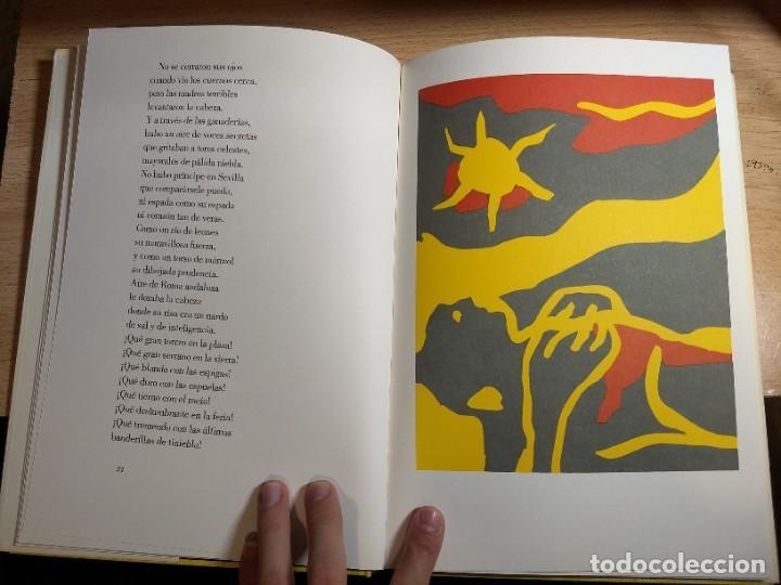 Libros de segunda mano: Federico García Lorca - Llanto por Ignacio Sánchez Mejías (1987) - Foto 5 - 225196670