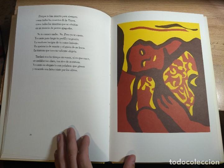 Libros de segunda mano: Federico García Lorca - Llanto por Ignacio Sánchez Mejías (1987) - Foto 6 - 225196670