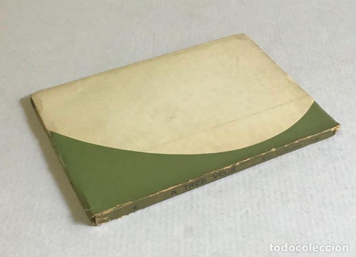 Libros de segunda mano: A TRES VEUS. POEMES. - COLOMINES I PUIG, Joan. - Foto 2 - 225543005