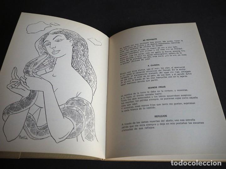 Libros de segunda mano: PINCELADAS EN GRIS. Mª DEL CARMEN FERRER MERLO. POEMAS EN PROSA. DIBUJOS C. PERELLON. - Foto 3 - 253907285
