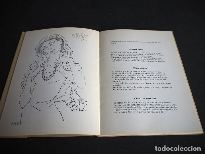 Libros de segunda mano: PINCELADAS EN GRIS. Mª DEL CARMEN FERRER MERLO. POEMAS EN PROSA. DIBUJOS C. PERELLON. - Foto 5 - 253907285