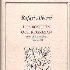 Libros de segunda mano: LOS BOSQUES QUE REGRESAN. Lote 225877742