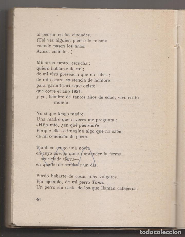 Libros de segunda mano: MANUEL ARCE: SOMBRA DE AYER. MADRID, ADONAIS, 1952. 1ª EDICIÓN. ALGUNAS CORRECCIONES - Foto 3 - 226132020