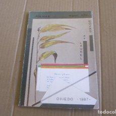 Libros de segunda mano: HOJAS DE LAUREL. POEMAS. MIGUEL NIÑO. OVIEDO, 1987. Lote 228212763