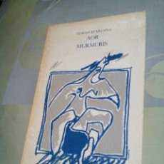 Libros de segunda mano: ARDA/LIBRITO VIEJO DE VERSOS CATALÁN/AOR MURMURIS/TERESA D'ARENYS/MIDE APROX14X22CM/ TIENE 73PAGINAS. Lote 229627315