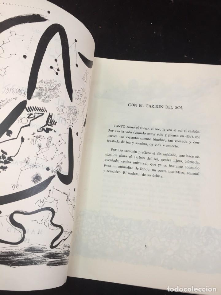 Libros de segunda mano: CON EL CARBÓN DEL SOL (Selección.) Dibujos de Benjamín Palencia. Juan Ramón JIMÉNEZ, 1972 - Foto 3 - 229653565