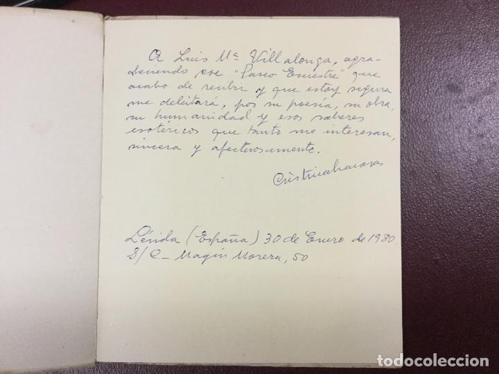 Libros de segunda mano: CON EL SUDOR ALZADO - CRISTINA LACASA - 1964 - FIRMADO Y DEDICADO POR EL AUTOR - 78p. 17x15 - Foto 3 - 230575990