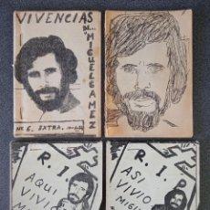 Libros de segunda mano: LOTE LIBRITOS POEMAS MIGUEL GAMEZ QUINTANA. Lote 234145085