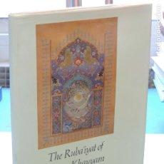 Libros de segunda mano: THE RUBA'IYAT OF OMAR KHAYYAM IN ENGLISH VERSE .- EDWARD FITZGERALD. Lote 234511605