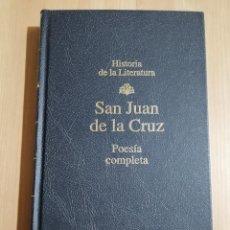 Libros de segunda mano: POESÍA COMPLETA (SAN JUAN DE LA CRUZ). Lote 235602985