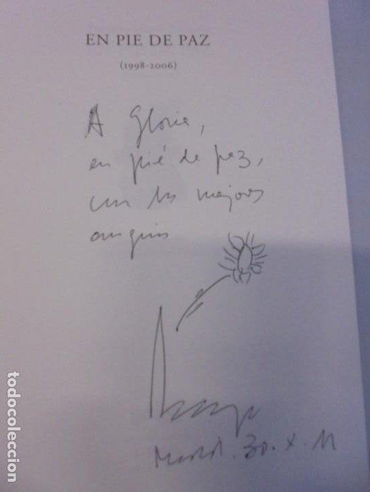 Libros de segunda mano: EN PIE DE PAZ (1998-2006). FEDERICO MAYOR ZARAGOZA. DEDICADO POR AUTOR. EDITORIAL GEDISA 2008 - Foto 7 - 236787695