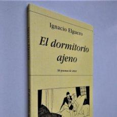 Libros de segunda mano: EL DORMITORIO AJENO | IGNACIO ELGUERO| EDICIONES HIPERIÓN, 2003. Lote 236867285
