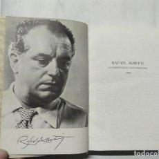 Libros de segunda mano: RAFAEL ALBERTI - EL POETA EN LA CALLE - 1ª EDICIÓN - 1978 - AGUILAR. Lote 237841005