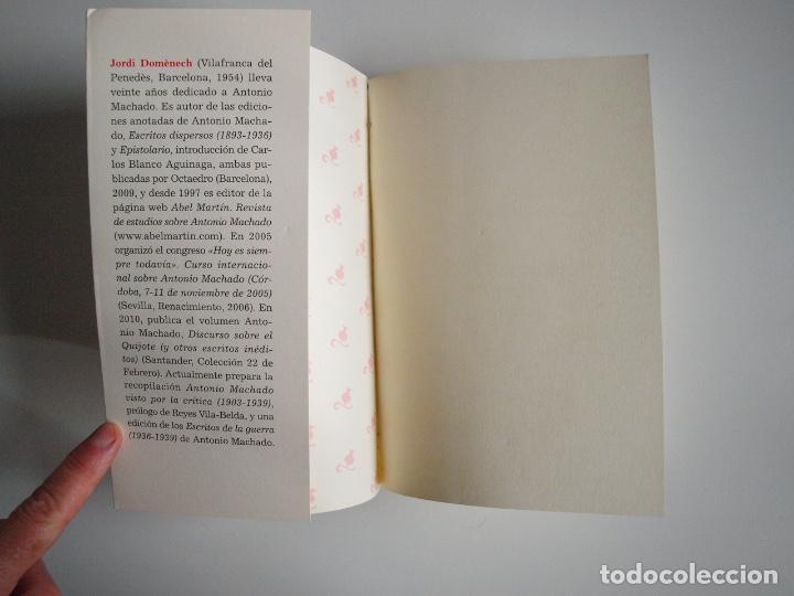 Libros de segunda mano: ANTONIO MACHADO - ANTOLOGÍA POÉTICA - COL. 22 DE FEBRERO - GOBIERNO DE CANTABRIA - SANTANDER 2020 - Foto 3 - 239546395