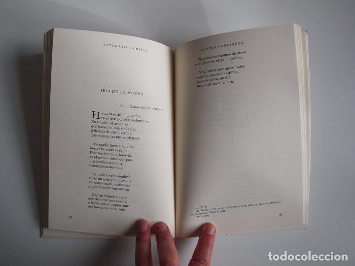 Libros de segunda mano: ANTONIO MACHADO - ANTOLOGÍA POÉTICA - COL. 22 DE FEBRERO - GOBIERNO DE CANTABRIA - SANTANDER 2020 - Foto 6 - 239546395