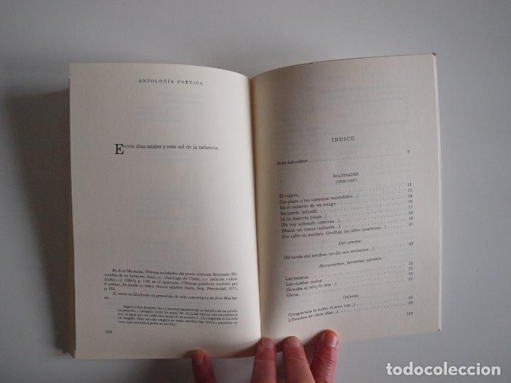 Libros de segunda mano: ANTONIO MACHADO - ANTOLOGÍA POÉTICA - COL. 22 DE FEBRERO - GOBIERNO DE CANTABRIA - SANTANDER 2020 - Foto 7 - 239546395