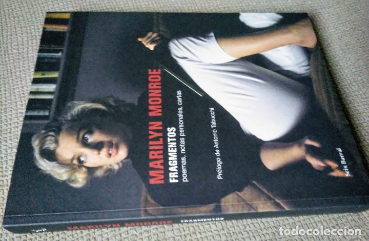 Libros de segunda mano: Marilyn Monroe. Fragmentos, notas personales, poemas... Seix Barral, 2010. - Foto 12 - 239591945