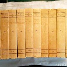 Libros de segunda mano: MENÉNDEZ PELAYO - ANTOLOGÍA DE POETAS LÍRICOS CASTELLANOS - 10 TOMOS - OBRA COMPLETA - INTONSOS. Lote 239937705
