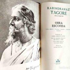 Libros de segunda mano: TAGORE: OBRA ESCOJIDA - LÍRICA. TEATRO. CUENTOS. AFORISMOS - NUEVO. Lote 240497815