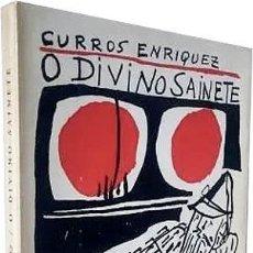 Libros de segunda mano: CURROS ENRIQUEZ : O DIVINO SAINETE (CON ILUSTRACIONES DE SEOANE, COLMEIRO, LAXEIRO, PATIÑO Y OTROS. Lote 274407383