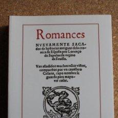 Libros de segunda mano: PRIMERA PARTE DE LA SILVA DE VARIOS ROMANCES. EN QUE ESTÁN RECOPILADOS LA MAYOR PARTE DE LOS .... Lote 242139175
