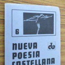 Libros de segunda mano: NUEVA POESÍA CASTELLANA - 6 / VALENTÍN GRAÑA PÉREZ / 1ª EDICIÓN 1983. Lote 243913045
