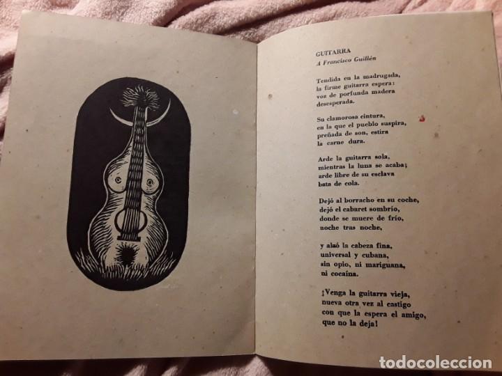 Libros de segunda mano: Iba yo por un camino, de Nicolás guillén. Poemas ilustrados por ibrahim miranda y aliosky garcia - Foto 4 - 244749280
