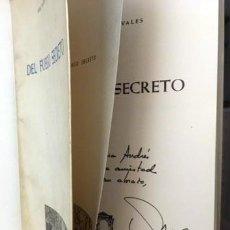 Libros de segunda mano: ANA MARÍA NAVALES : DEL FUEGO SECRETO. (1ª ED. AUTÓGRAFO PARA ELENA DE ANDRÉS) POESÍA. Lote 245006270