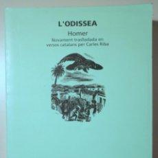 Libros de segunda mano: HOMER - L'ODISSEA - BARCELONA 1998. Lote 245912320