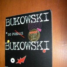 Livros em segunda mão: 20 POEMAS / BUKOWSKY. Lote 246737925