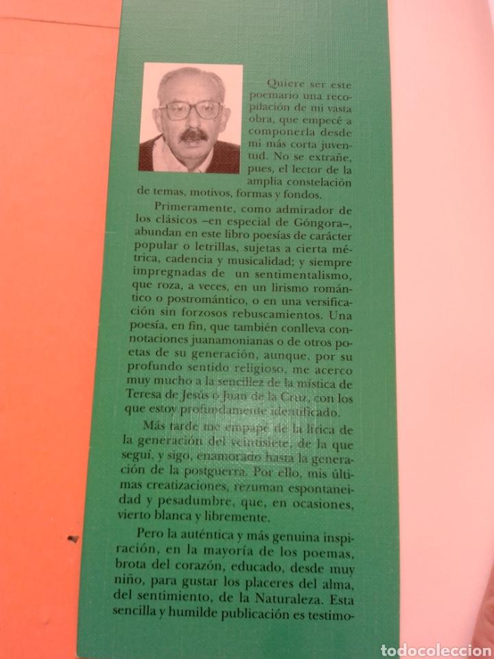 Libros de segunda mano: 1995 SOSTENIDOS Y BEMOLES, POEMARIO, MANUEL MARTIN SANTIAGO, TAPA BLANDA - Foto 2 - 247692535