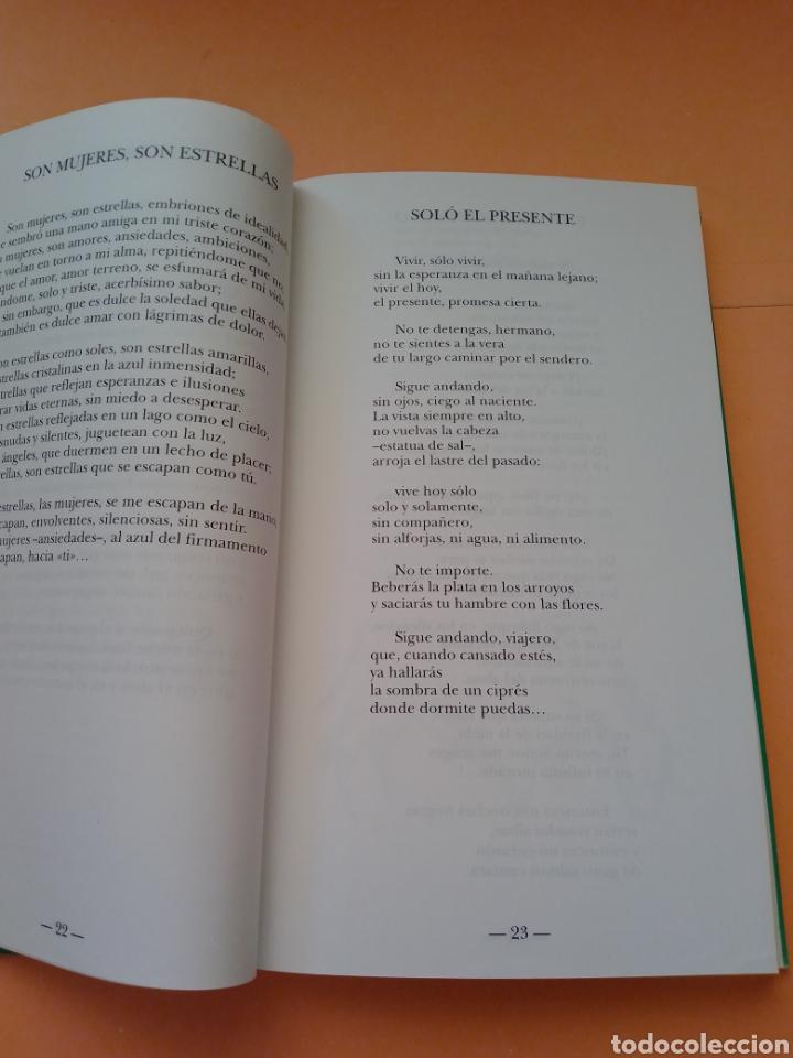 Libros de segunda mano: 1995 SOSTENIDOS Y BEMOLES, POEMARIO, MANUEL MARTIN SANTIAGO, TAPA BLANDA - Foto 4 - 247692535