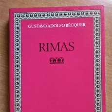 Libros de segunda mano: RIMAS, BECQUER, EDICIÓN DE JOSÉ CARLOS DE TORRES, CASTALIA, 1987. Lote 293843138