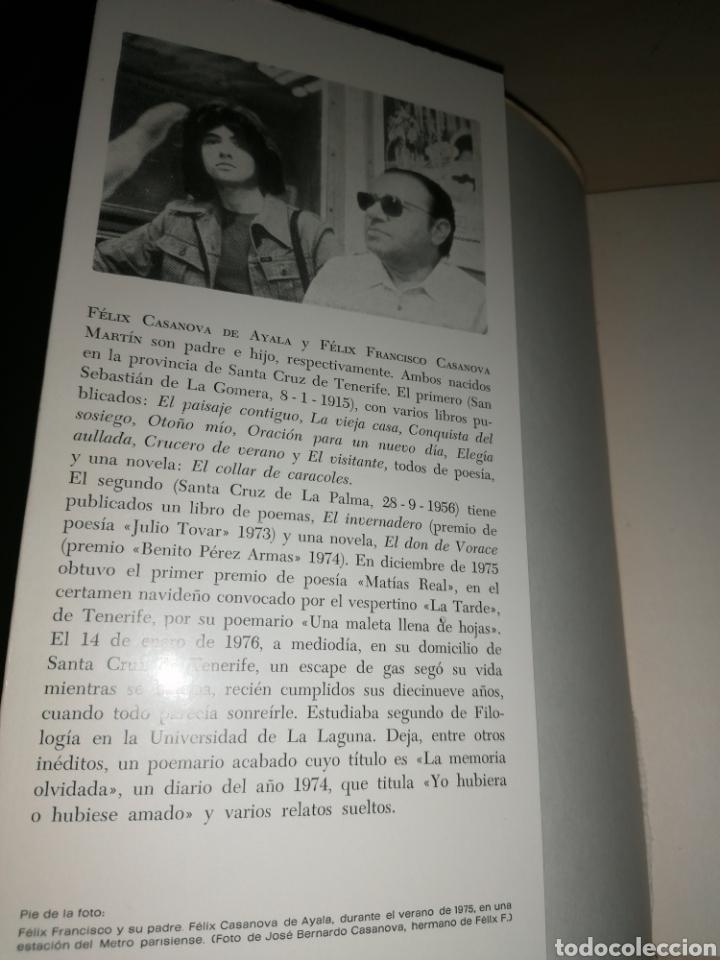 Libros de segunda mano: Cuello de Botella - FÉLIX CASANOVA DE AYALA - FÉLIX FRANCISCO CASANOVA MARTÍN - Dedicado autor - Foto 2 - 253038385