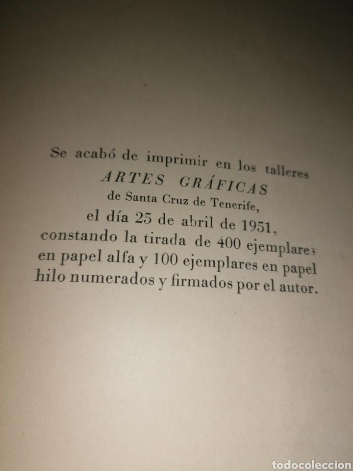 Libros de segunda mano: DÍA DE ALONDRAS - PEDRO GARCÍA CABRERA - 1951- Dedicatoria autógrafa - Foto 5 - 253356525