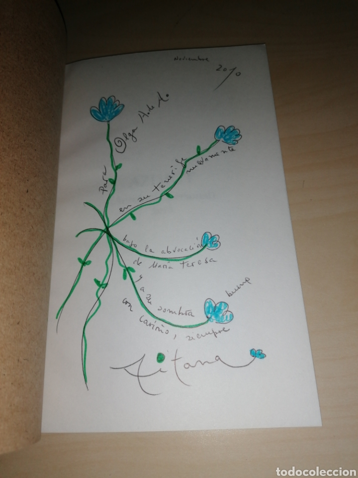 Libros de segunda mano: AZIMUT - Aitana Alberti - Dibujo y dedicatoria autógrafa - Foto 2 - 253362320