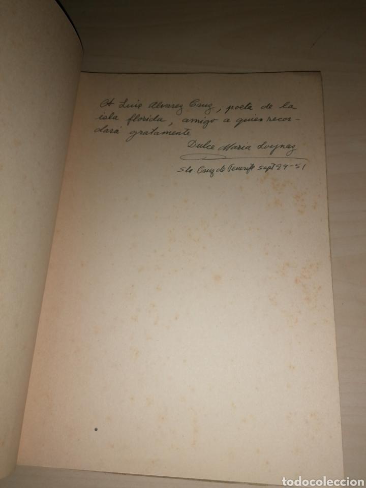Libros de segunda mano: Juegos de agua - Dulce Maria Loynaz - Dedicatoria autógrafa - Foto 2 - 253366085