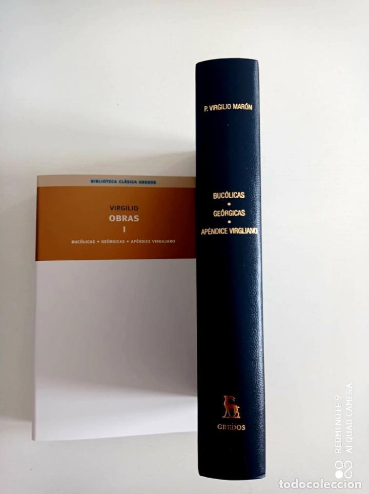 BUCOLICAS. GEÓRGICAS. APÉNDICE.VIRGILIO. BIBLIOTECA CLÁSICA GREDOS. 2008. LIBRO NUEVO. (Libros de Segunda Mano (posteriores a 1936) - Literatura - Poesía)