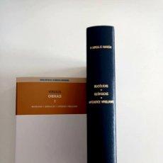 Libros de segunda mano: BUCOLICAS. GEÓRGICAS. APÉNDICE.VIRGILIO. BIBLIOTECA CLÁSICA GREDOS. 2008. LIBRO NUEVO.. Lote 253827740