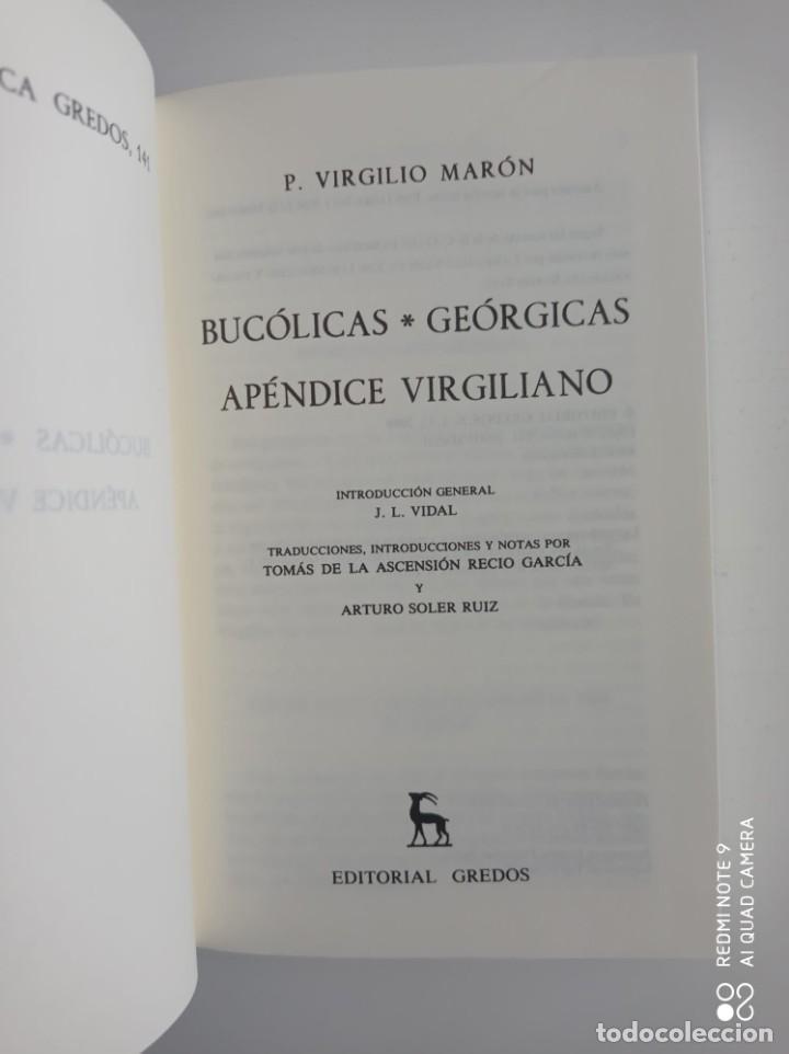 Libros de segunda mano: Bucolicas. Geórgicas. Apéndice.Virgilio. Biblioteca Clásica Gredos. 2008. Libro nuevo. - Foto 2 - 253827740