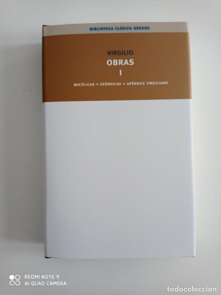 Libros de segunda mano: Bucolicas. Geórgicas. Apéndice.Virgilio. Biblioteca Clásica Gredos. 2008. Libro nuevo. - Foto 4 - 253827740