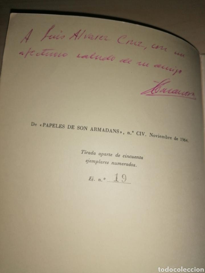Libros de segunda mano: Félix Casanova de Ayala. Anecdotario y teoría del Postismo. Tirada numerada. Dedicatoria autógrafa - Foto 2 - 253988940